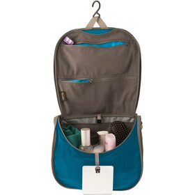 Sea to Summit Travelling Light Hanging Toiletry Bag Large Blue/Grey